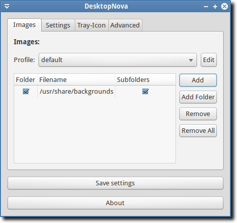 Select Images or Folder