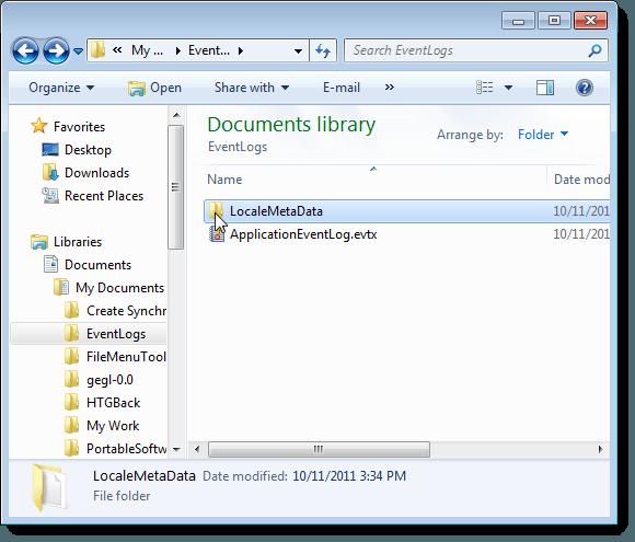 Metadata information folder