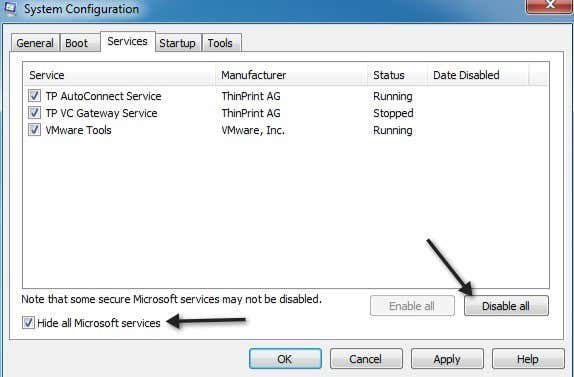how to speed up startup on windows 7