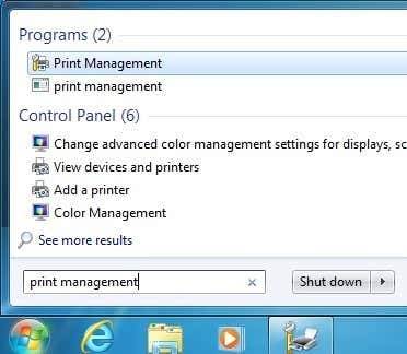 Remove or Uninstall a Printer Driver from Windows 7/8/10