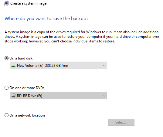 can you create a recovery disk for windows 10