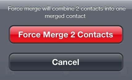 force merge