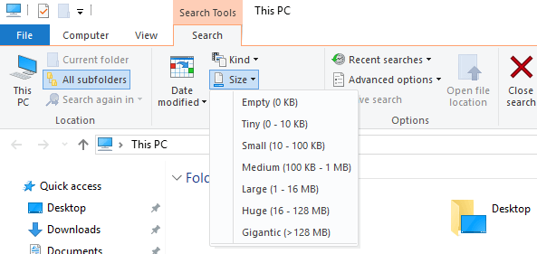Find the Largest Files on Your Computer