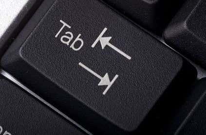 tab key