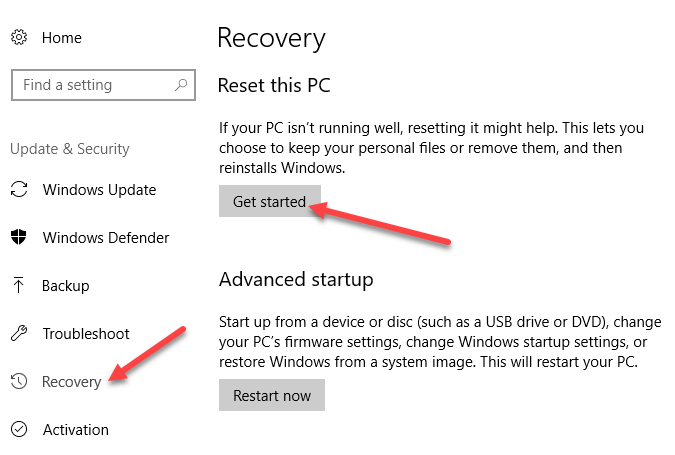 Fix Missing Windows Default Apps in Windows 10