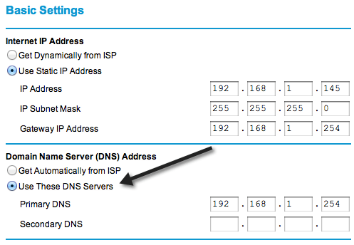 Block Websites from your Router or using DNS