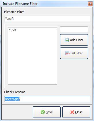 file name filter