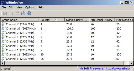 scan wifi networks