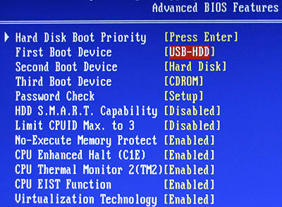 Unable to Boot Windows with External Hard Drive Attached?