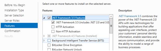 Install  NET Framework 3 5, 3 0, 2 0 on Windows 8/10