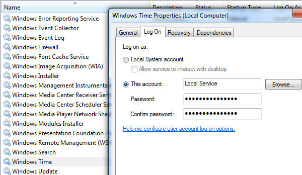 Can't Change Date and Time in Windows?