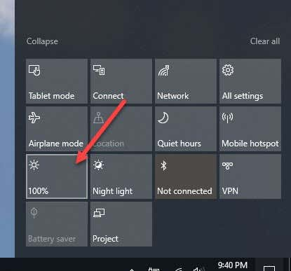 Fix Can't Adjust Brightness after Upgrading to Windows 8 1/10