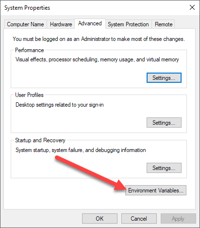 How to Add to Windows PATH Environment Variable