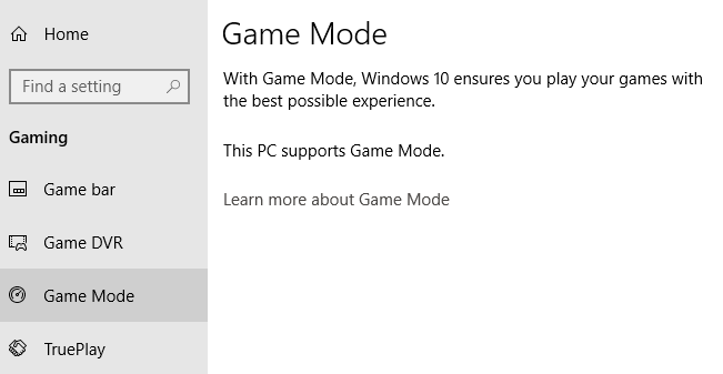 Enable Game Mode to Smooth Out Performance in Windows 10