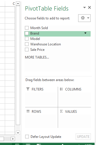 How to Create a Simple Pivot Table in Excel