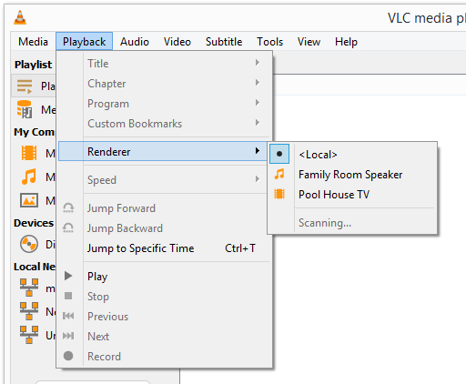 How to Use VLC With Chromecast
