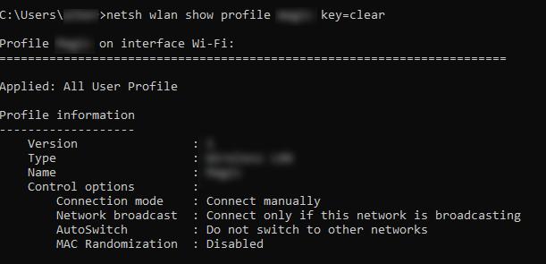 delete wireless network windows 10 cmd