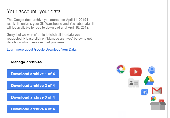 How to Download Your Personal Data From Google