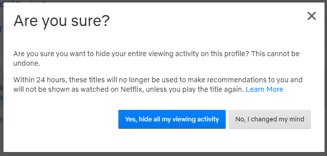 How To Delete Your Netflix Viewing History