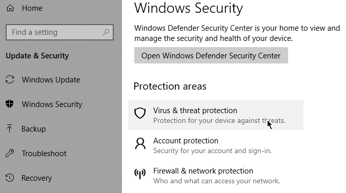 How to Scan for Malware in Windows 10