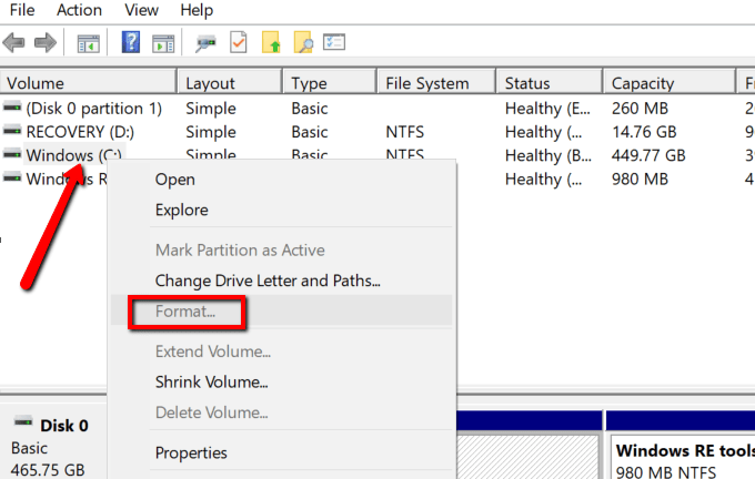 """How to Fix """"Windows was unable to complete the format"""" Error"""
