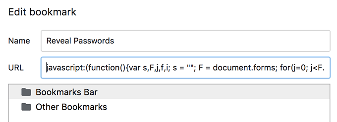 How To View A Password Behind The Asterisks In a Browser