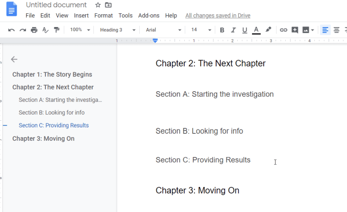 How to properly format an essay in google docs
