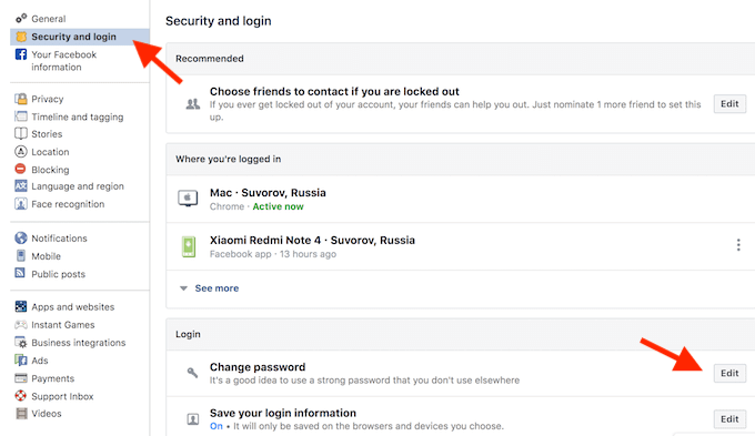 How to Fix If You Can't Log Out of Facebook