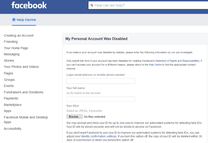 How to unlock Your Facebook Account?
