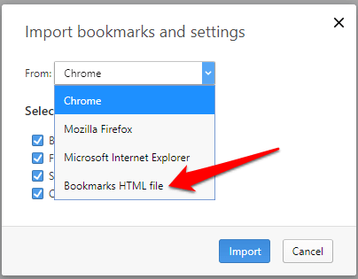 How to Transfer Bookmarks To And From All Major Browsers