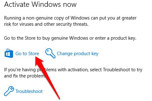 Microsoft activation problem
