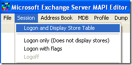 microsoft exchange server mapi editor