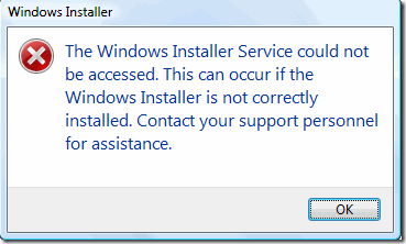 How To Fix The Windows Installer Service Could Not Be Accessed Error
